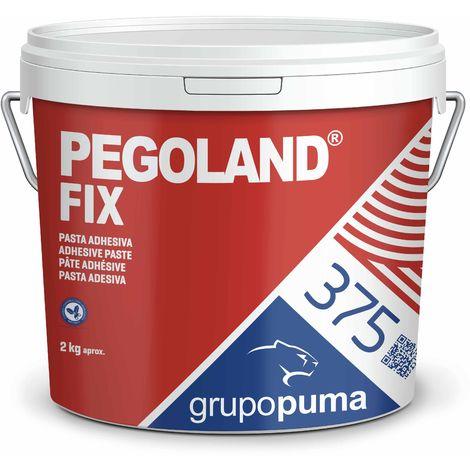 375 Pegoland Fix Blanco D1: adhesivo en pasta ideal para reparaciones de piscinas, revestimientos cerámicos.. Bote 2 KG