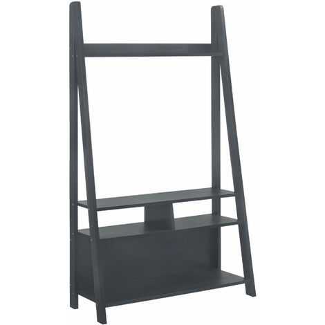 Toddny Ladder TV Unit Black