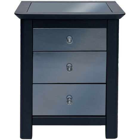 Yearn 3 Drawer Bedside Cabinet