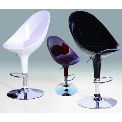 Saposi Adjustable Bar Stool Chair Red