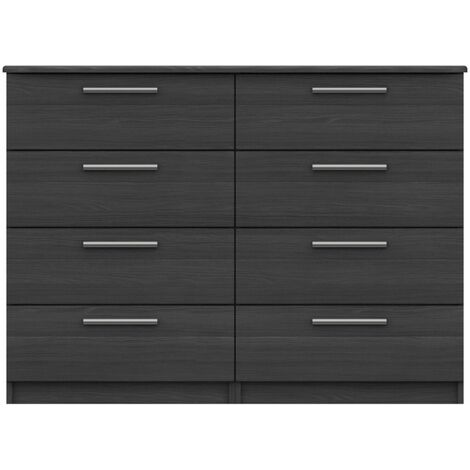 Midas Four Draw Double Chest 908 mm 1224 mm 426 mm