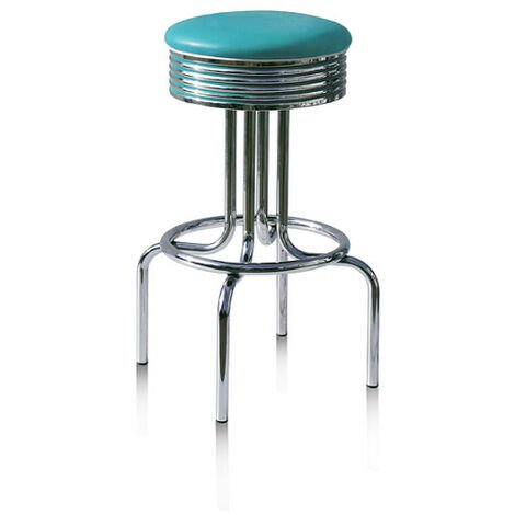 Florida Fifties Breakfast Bar Stool Various Colours Off White