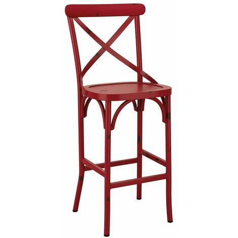 Cafron Bar Stool - Red