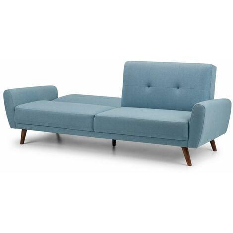 Honcho Fabric Sofa Bed - Blue