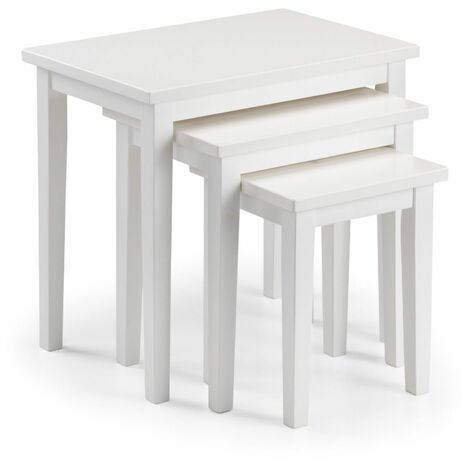 Scotch Nest Of Tables - Pure White