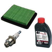 Filtre à air, filtre à air plat + bougie d'allumage + huile pour honda gcv135 / 160 gc135 / 160
