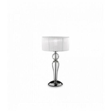 Lampe de table Transparente DUCHESSA 1 ampoule en métal