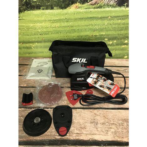 SKIL 7226 AC Ponceuse Multi (FOX 6 en 1), 250W, 125mm