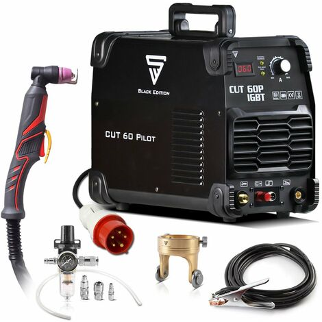 optimal performance STAHLWERK Plasma Cutting Torch PT-31 Basic cable package 5m up to 40 A good thermal conductivity high quality and long lasting burner