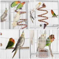Yaheetech Jaula Grande para Pájaro Jaula para Loros Canarios Aves Jaula para Mascota Blanco