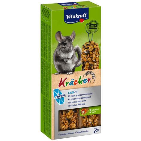 Vitakraft - Kräcker Calcium pour Chinchillas x2
