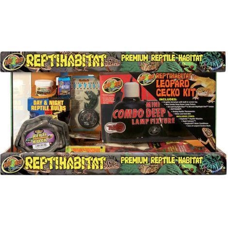 Zoomed - Kit Terrarium ReptiHabitat pour Gecko