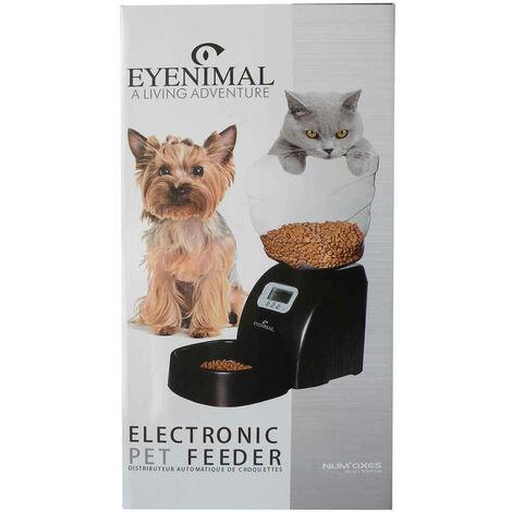 Eyenimal - Distributeur de Croquettes Programmable Pet Feeder pour Chien et Chat