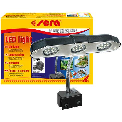 Sera - Lampe à Pince LED Light pour Aqua-terrarium - 3x2W