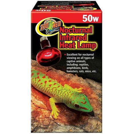 Zoomed - Lampe Chauffante Infrarouge Repti Infrared pour Terrarium - 50W