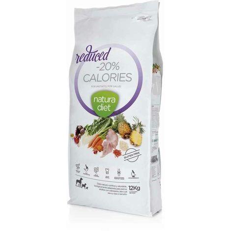 Natura Diet - Croquettes Reduced -20% Calories Dinde pour Chien - 12Kg