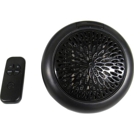 Round Plug In Wall Heater - Outlet Socket Space Ceramic Mini Wall-Outlet