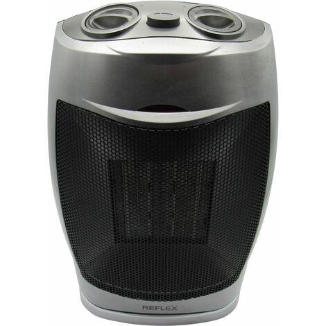 X1 1500w Ceramic Oscillating Electric Fan Heater - Home Office Instant Heat Blow Warm