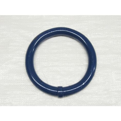 38MM 16.6 Ton Grade 80 FRAM Round Ring 38.O.6 - Masterlink Lifting Blue Powdercoated EN1677-1