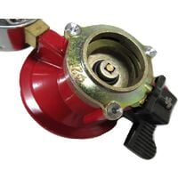 Propane Gas Regulator with Gauge - 27MM Clip On Calor Patio Heater