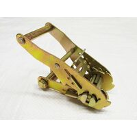 Ratchet Handle Short Wide 25MM (1.5T Yellow Passivated Replacement Lashing Tie Down Secure)