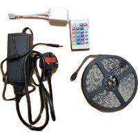 5M LED Strip Lights 240V Tape - Bedroom Outdoor Waterproof Remote Control