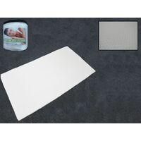 Small Double Memory Foam Mattress Topper (Back Pain Caravan Motorhome Bed)