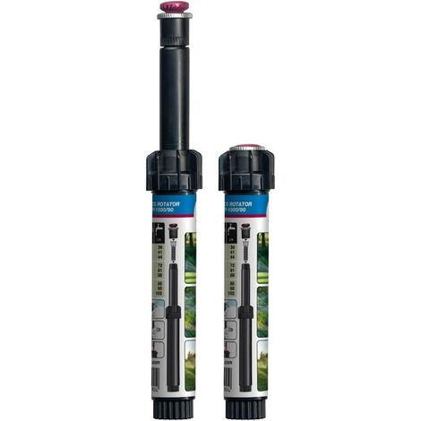 Tuyère Hunter Eco rotator de 90° à 210° portée 2,5 à 4,5m+ Buse rotator pour les arrosages automatiques