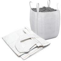 Sacco per calcinacci macerie rifiuti edili pesanti BigBag 90x90x165cm