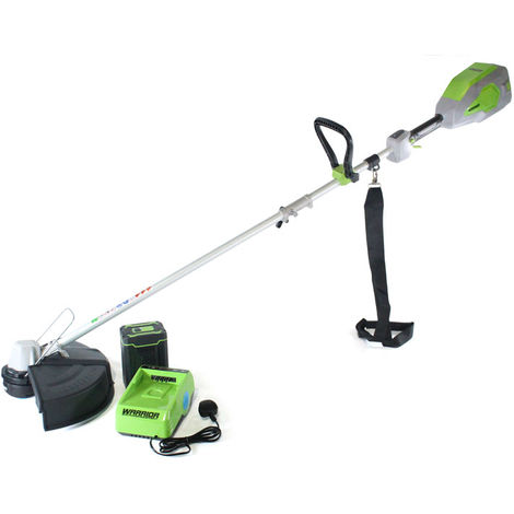 60v Warrior Trimmer with Battery and Charger
