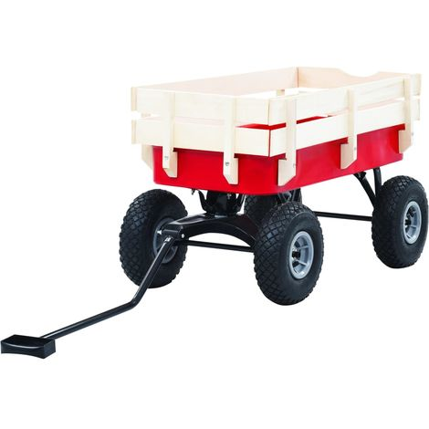 Hommoo Hand Trolley 150 kg Red VD06512