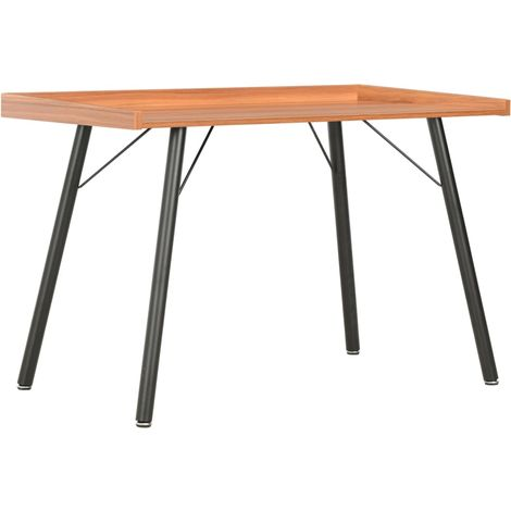 Hommoo Desk Brown 90x50x79 cm