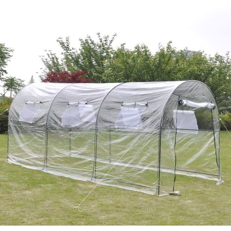 Hommoo Outdoor Greenhouse Large Portable Gardening Plant Hot House VD26250
