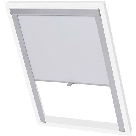 Hommoo Blackout Roller Blinds White 102 VD00775