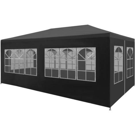 Hommoo Party Tent 3x6 m Anthracite VD29254