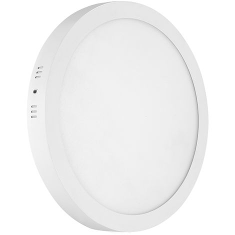 Hommoo 1 Piece 18W Surface Mounted Panel Light Cool White Round 220V
