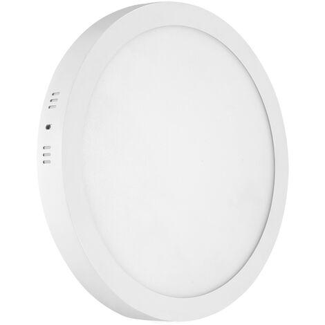 Hommoo 8 Piece 24W Surface Mount Panel Light Neutral White Round 220V