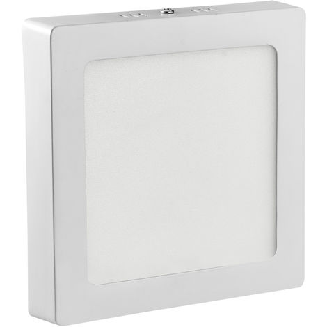 Hommoo 2 Piece 12W Surface Mounted Panel Light Neutral White Square 220V LLDDE-MBD11Z12WX2