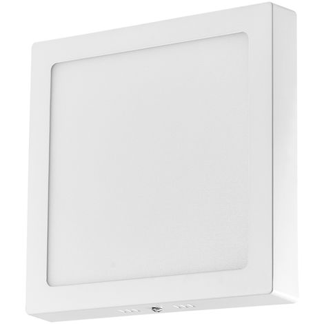 Hommoo 1 Piece Foldable 18W Surface Mounted Panel Light Neutral White Square 220V LLDDE-MBD11Z18W