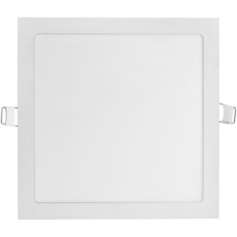 Hommoo 1 Piece 2-Pack Ultra Thin Square LED Recessed Flat Panel Downlight Ceiling Light,LED Flush Mount Ceiling Light for Home, Commercial Lighting Panel LLDDE-MA0127304