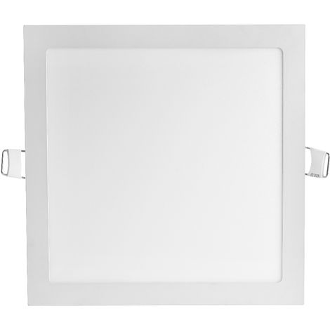 Hommoo 4 Piece 2-Pack Ultra Thin Square LED Recessed Flat Panel Downlight Ceiling Light,LED Flush Mount Ceiling Light for Home, Commercial Lighting Panel LLDDE-MA0127305X4