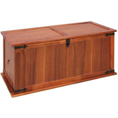 Hommoo Storage Chest 79x34x32 cm Solid Acacia Wood VD13137