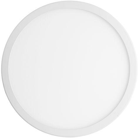 Hommoo 2 Piece 15W Panel Light Cool White Round LLDDE-ZM0801531X2