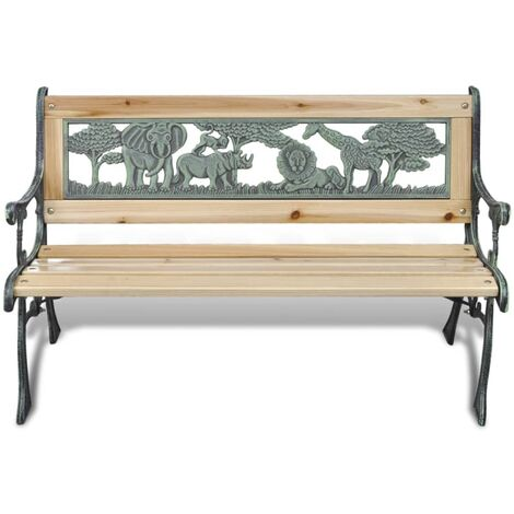 Hommoo Children Garden Bench 84 cm Wood QAH26337