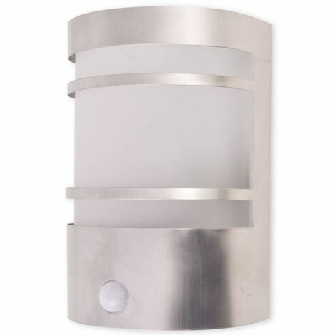 Hommoo Outdoor Wall Light with Sensor Stainless Steel QAH26865