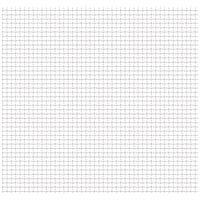 Hommoo Crimped Garden Wire Fence Stainless Steel 50x50 cm 11x11x2 mm VD04421