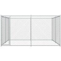 Hommoo Outdoor Dog Kennel 4x4x2 m VD06397