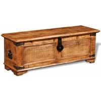 Hommoo Storage Chest Rough Mango Wood VD08873