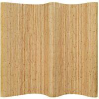 Hommoo Room Divider Bamboo 250x165 cm Natural VD13111
