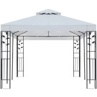 Hommoo Gazebo 3x6 m White VD18991